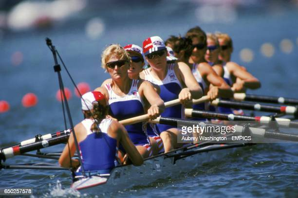 the Great Britain Women's Eight