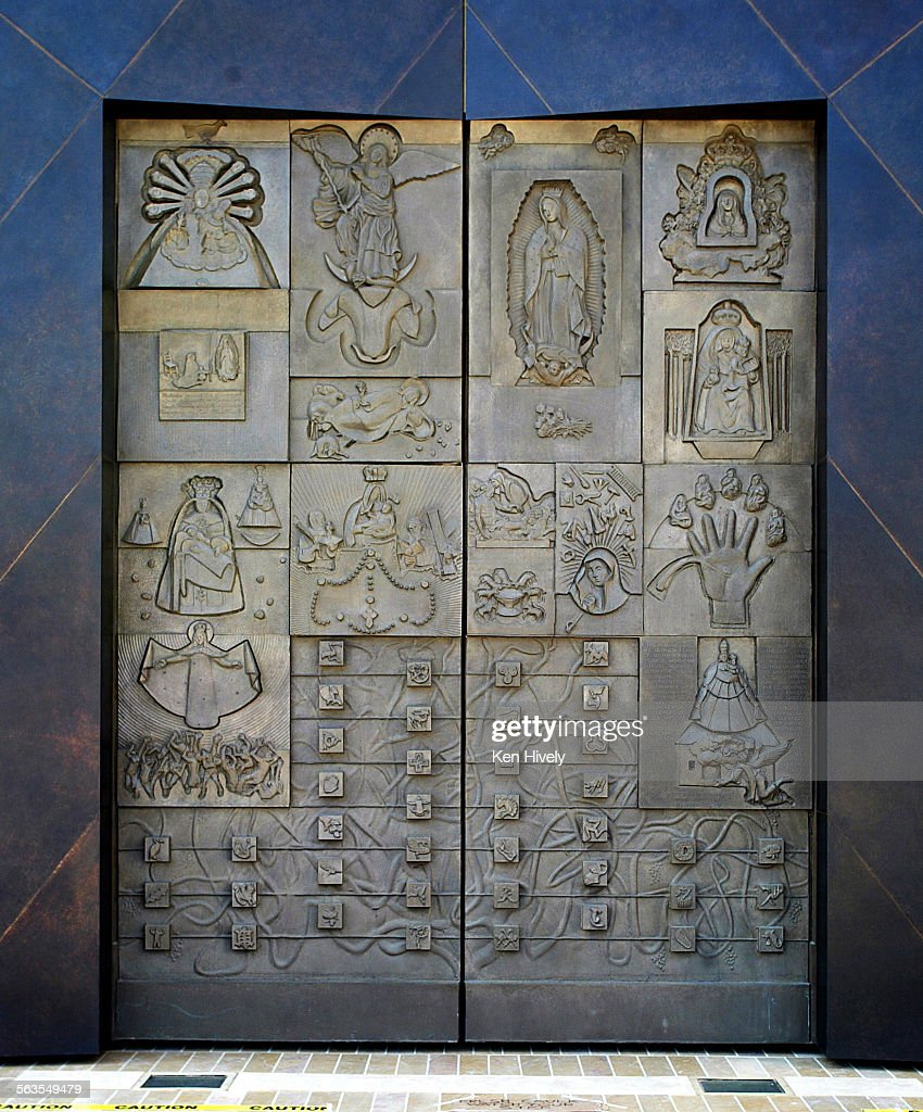 Awesome The Great Bronze Doors, Which Robert Graham Sculpted With The History Of  The Virgin Mary
