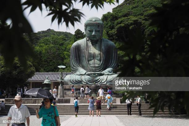 The Great Buddha of Kamakura is a bronze statue of Amitabha Buddha at the Kotokuin Temple The statue commonly known as Kamakura Daibutsu that was...