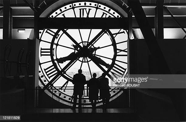 The Great Clock Of The Orsay Museum