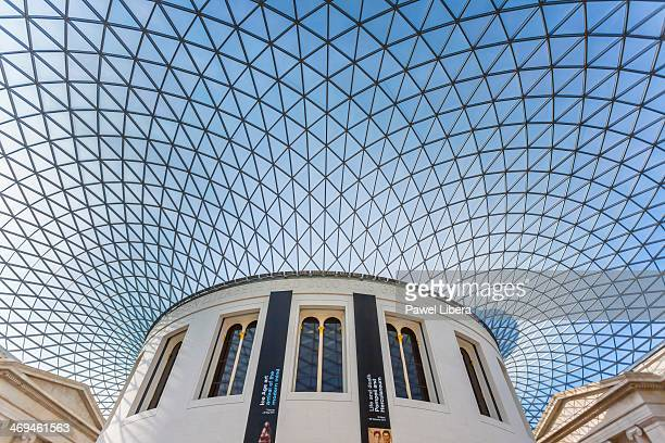 The Great Court at the British Museum in London's Bloomsbury