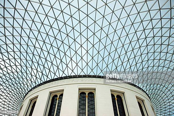 The Great Court at The British Museum. London, 30th April 2012