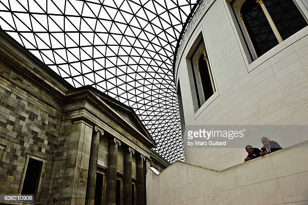 The Great Court at the British Museum, London
