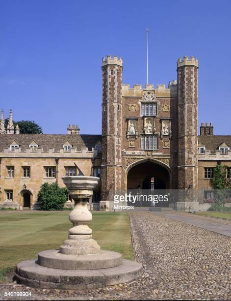 The Great Court Trinity College Cambridge Circa 1980