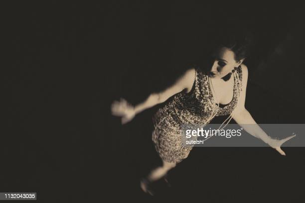 the great dancer - roaring 20s party stock photos and pictures