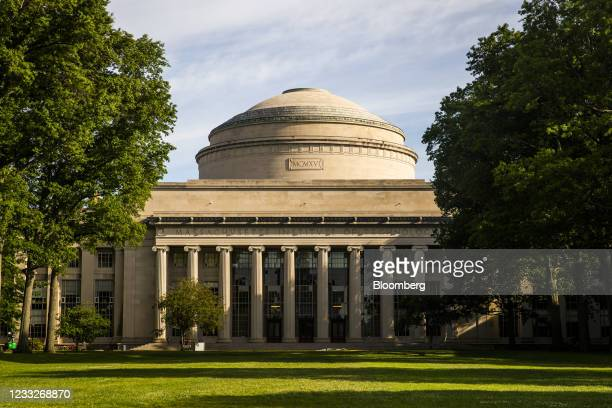 The Great Dome on Killian Court at the Massachusetts Institute of Technology campus in Cambridge, Massachusetts, U.S., on Wednesday, June 2, 2021. In...