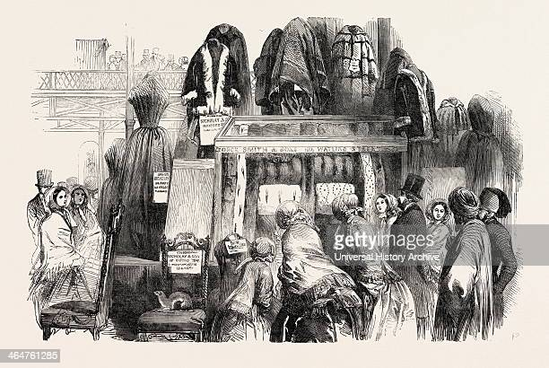 The Great Exhibition Crystal Palace Hyde Park London UK Case Of Furs Showing Especially The Several Kinds Of Sable By Smith And Sons Watling Street...