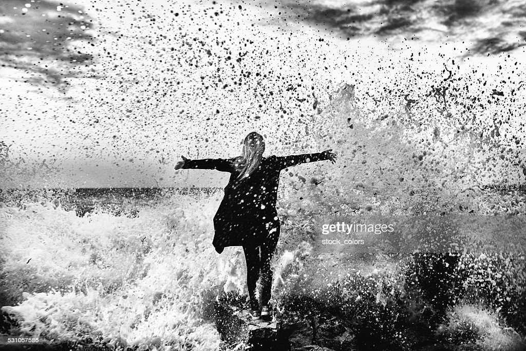 the great feeling of freedom : Stock Photo