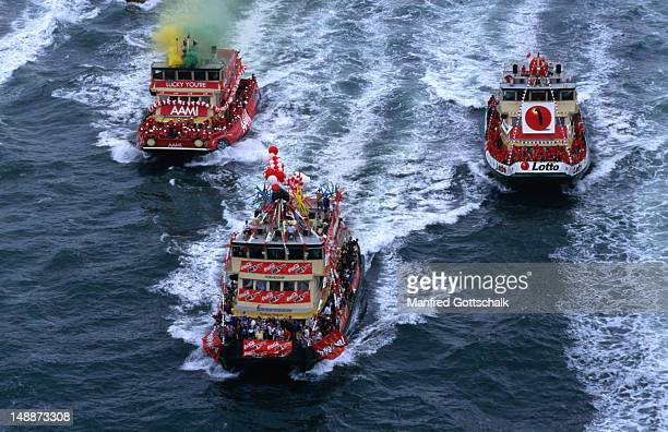 The Great Ferry Boat Race, held on Australia Day (26th January), is a race between Sydney's city ferries from the Sydney Harbour Brigde to Manly and back