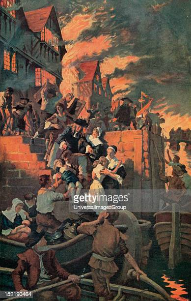 The Great Fire of London 1666.