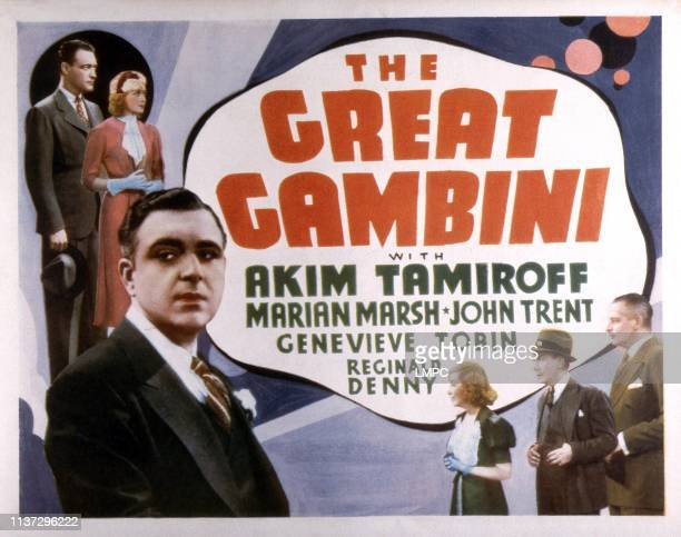 John Trent Marian Marsh Akim Tamiroff Genevieve Tobin William Demarest Reginald Denny 1937