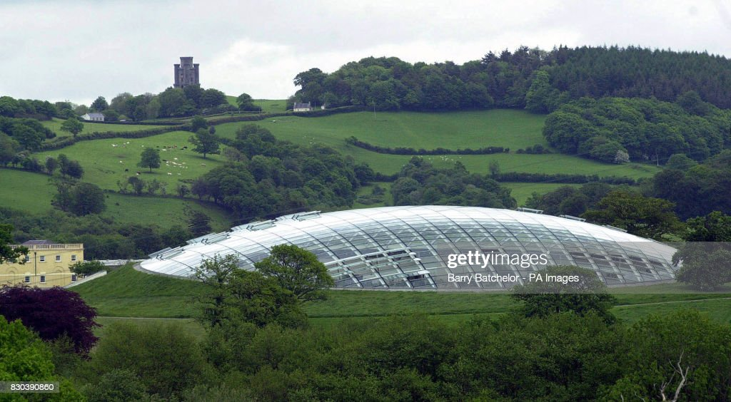 The Great Glasshouse At The National Botanic Garden Of Wales With Paxtonu0027s  Tower On The Top