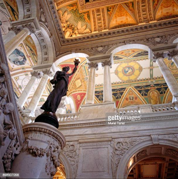 The Great Hall at the US Library of Congress