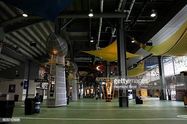The Great Hall concourse inside Heinz Field, home of the Pittsburgh Steelers and Pittsburgh Panthers football teams in Pittsburgh, Pennsylvania on...