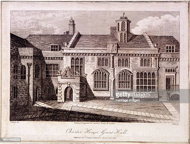 The Great Hall in Charterhouse Finsbury London 1805