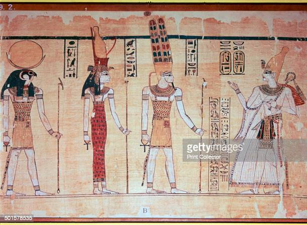 The Great Harris Papyrus, from Thebes, probably Deir el-Medina, Egypt, reign of Rameses IV, c1200 BC. At forty-two metres, this is one of the longest...