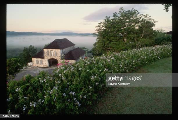 the great house at good hope plantation - hope imagens e fotografias de stock