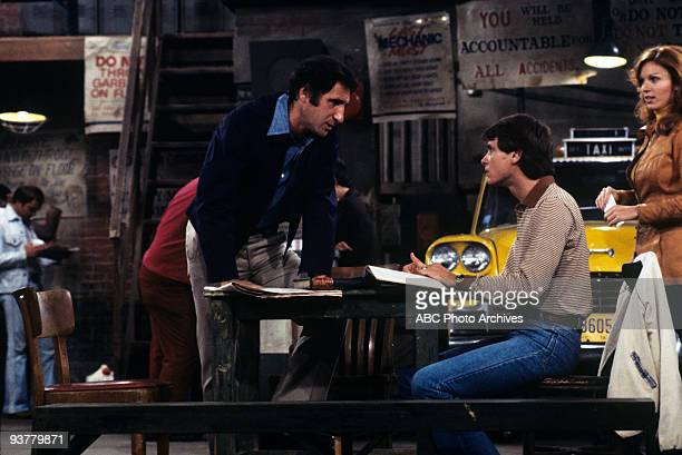 TAXI 'The Great Line' Season One 10/17/78 Judd Hirsch Randall Carver Marilu Henner on the ABC Television Network comedy 'Taxi' John meets a girl at a...