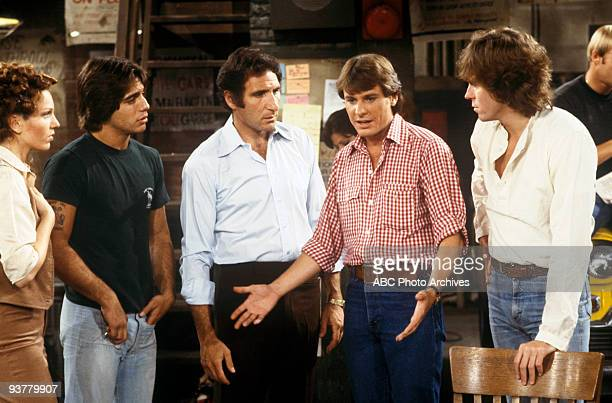 TAXI 'The Great Line' Season One 10/17/78 Marilu Henner Tony Danza Judd Hirsch Randall Carver Jeff Conaway on the ABC Television Network comedy...