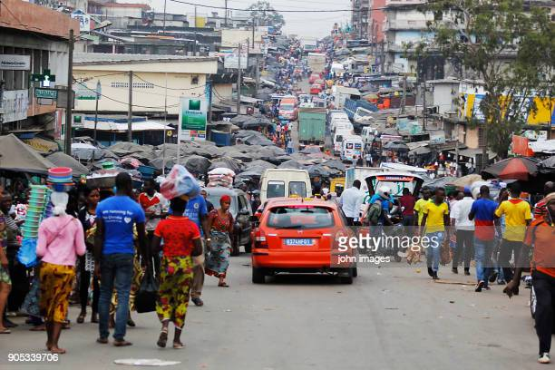 The great market of Abobo