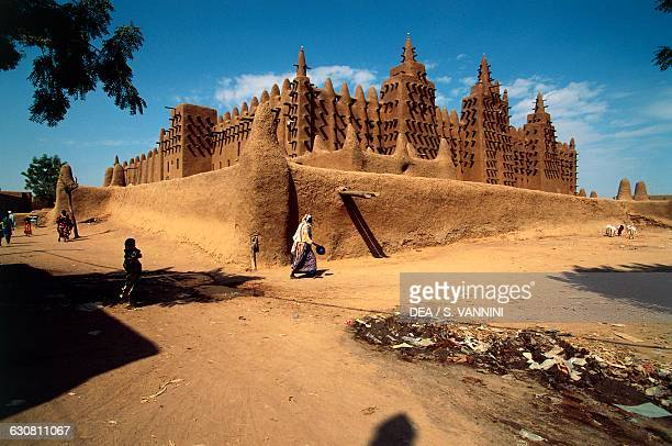 The Great Mosque Djenne Mopti Mali 20th century