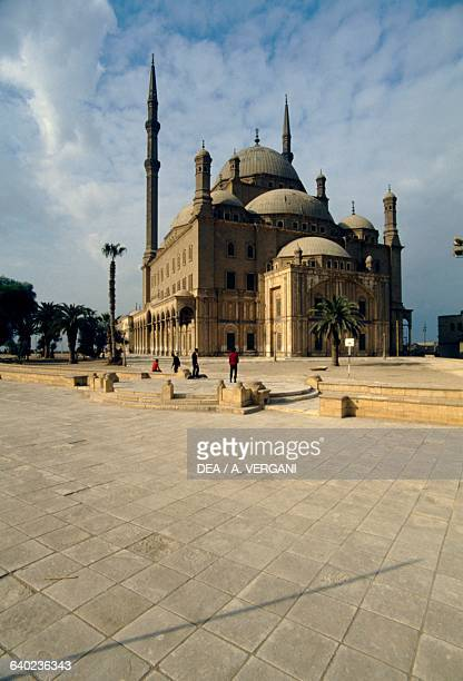 The great Mosque of Muhammad Ali Pasha or Alabaster Mosque Cairo Citadel Egypt