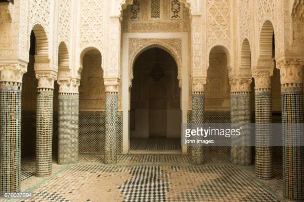 The great mosque of Sale, also called Al Aadam mosque