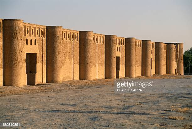 The Great mosque of Samarra Iraq 9th century