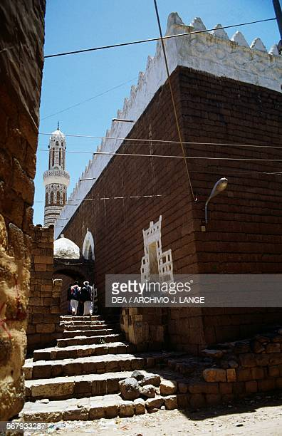 The Great mosque or AlJami'a alKabir mosque Shibam Yemen 8th14th century