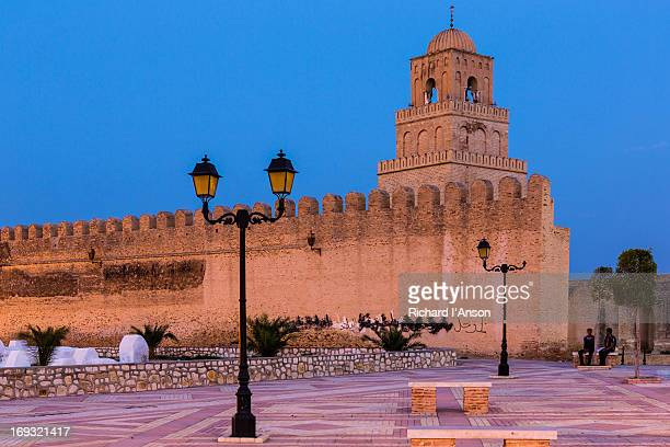 the great mosque (sidi okba mosque) - kairwan stock pictures, royalty-free photos & images