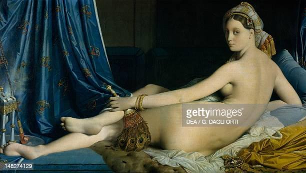 The great Odalisque by Jean Auguste Dominique Ingres Paris Musée Du Louvre