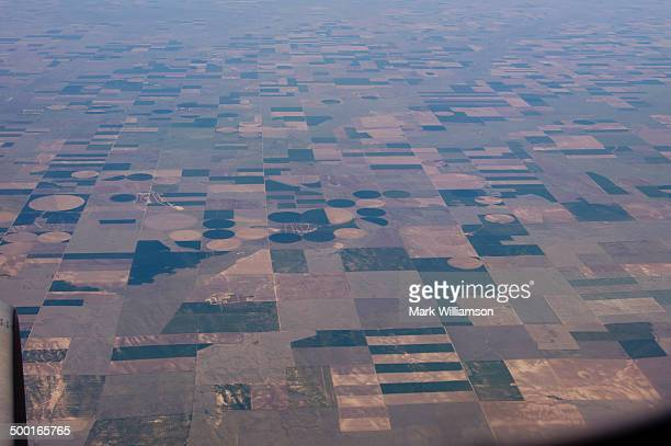 The Great Plains from the air.