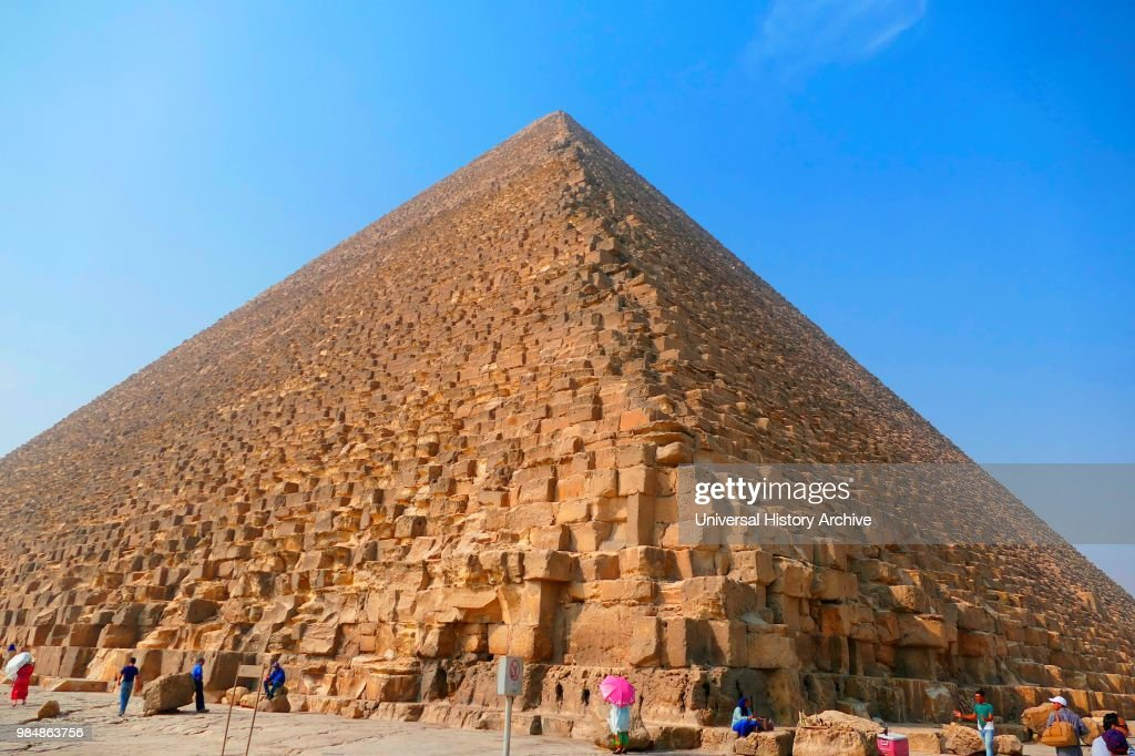 the Great Pyramid of Giza   oldest and largest of the three