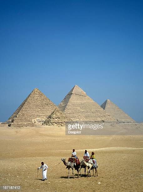 The Great Pyramids in Giza Eygpt