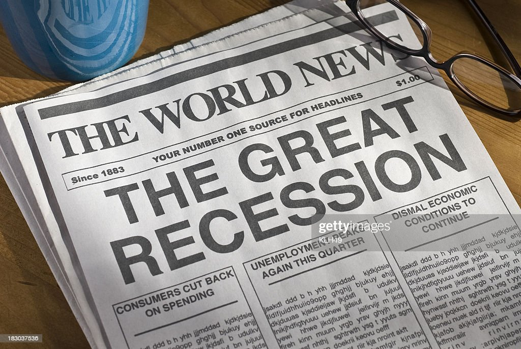 The Great Recession : Stock Photo