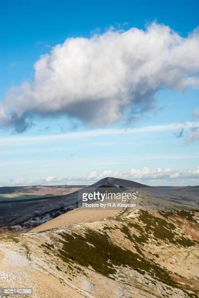 The great ridge, Mam Tor, Peak District, Derbyshire