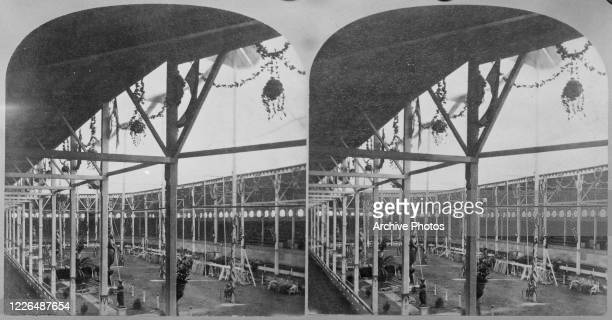 The Great Roman Hippodrome of showman PT Barnum in New York City circa 1880 From 'American Views'