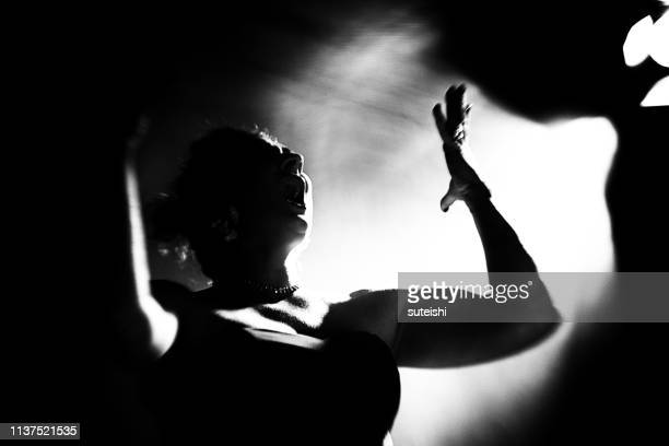 the great singer - opera stage stock pictures, royalty-free photos & images