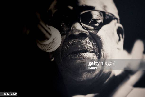 the great singer - soul, jazz and funk - blues music stock pictures, royalty-free photos & images