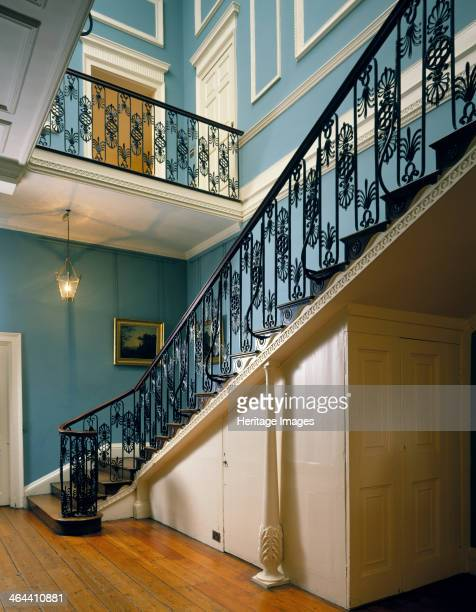 The Great Staircase at Kenwood House Hampstead London 1989 A view of the Great Staircase at Kenwood House which Robert Adam designed as part of his...