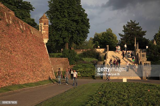 The Great Staircase in Belgrade Fortress