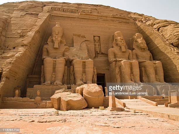 The Great Temple of Rameses II at Abu Simbel