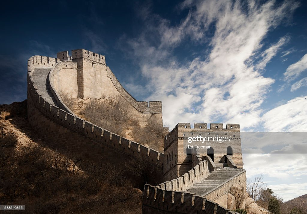 The Great Wall, Badaling, Beijing : Stock Photo
