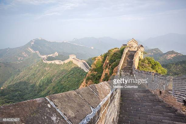 the great wall, jinshanling, china - chinesische kultur stock-fotos und bilder