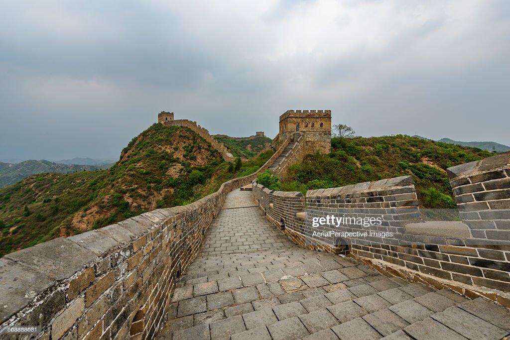 The Great Wall, Jinshanling, China : Foto de stock