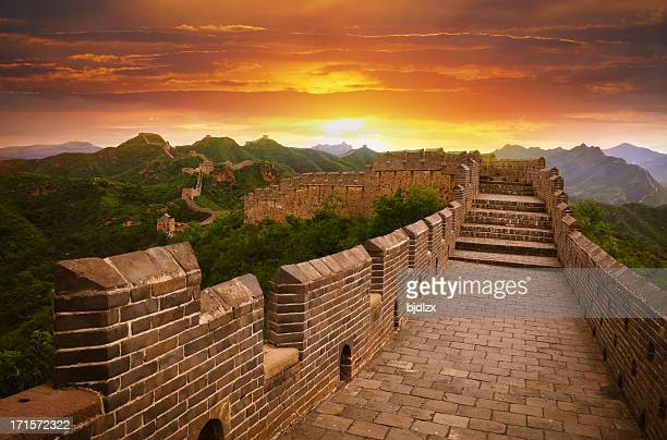 Great Wall bei Sonnenuntergang
