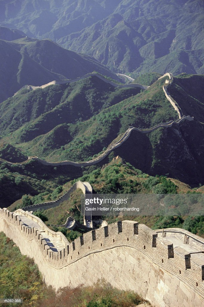 The Great Wall of China, China, Asia : Foto de stock