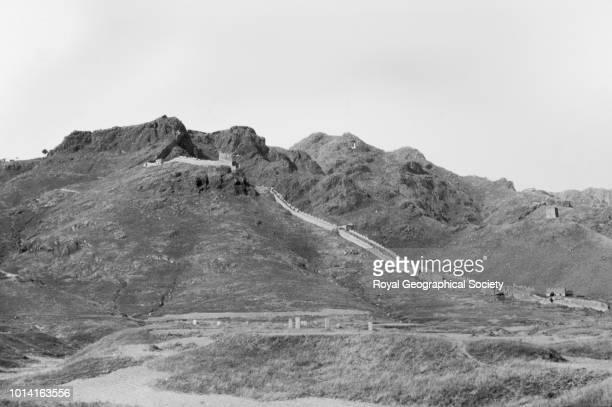 The Great Wall of China Hai Kuan China 1930