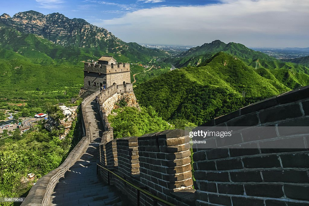 The Great Wall of China : Stockfoto