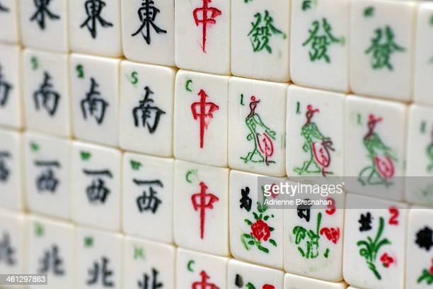 The great wall of mahjong
